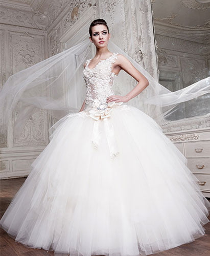 wedding-dress-princess-style