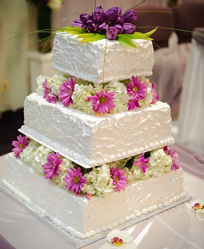 wedding-square-cake